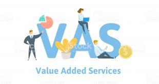 وس VAS خدمات ارزش افزوده (Value Added Services)