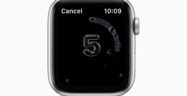 اپل واچ جدید بر شستشوی دستها نظارت میکند