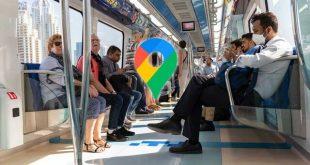 با گوگل مپ از شلوغی مترو با خبر شوید!