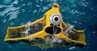 ربات زیرآبی پاکسازی تورهای ماهیگیری