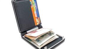 کیف پول هوشمند ارزان با قفل الکترونیک غیرقابل نفوذ