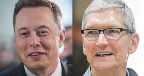 تحلیلگران معتقدند که اپل جدی ترین رقیب تسلا خواهد بود