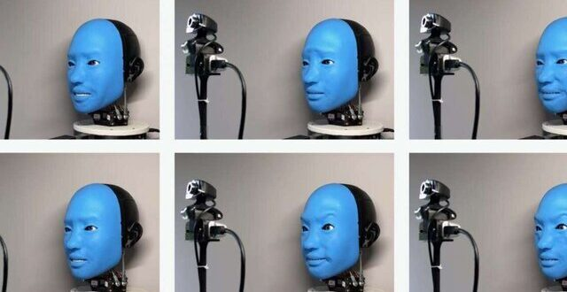 رباتی که به حالات چهره انسانها واکنش نشان میدهد
