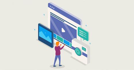 بازاریابی محتوایی با تمرکز بر فرمت بصری