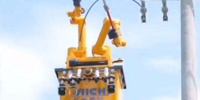 تعمیر و نگهداری خطوط برق توسط ربات ها