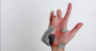 اختراع انگشت نرم رباتیک