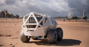 این ربات هوشمند تهسیگارها را در ساحل پیدا کرده و جمعآوری میکند
