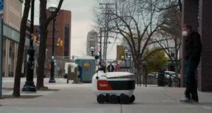 رباتهای خودران حمل و تحویل بسته های کوچک