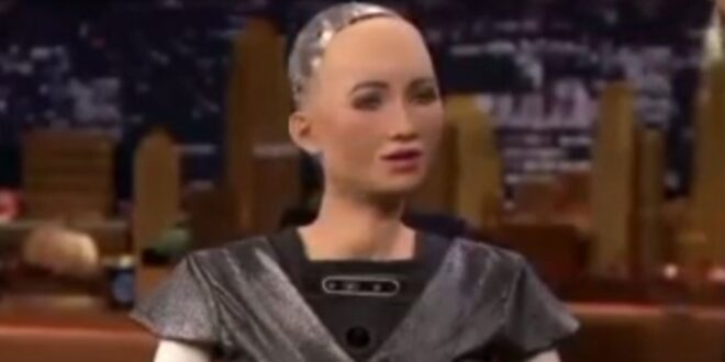 ربات انسان نما، قابلیت اتصال با اینترنت و پاسخ سریع به هر سوالی+ ویدیو